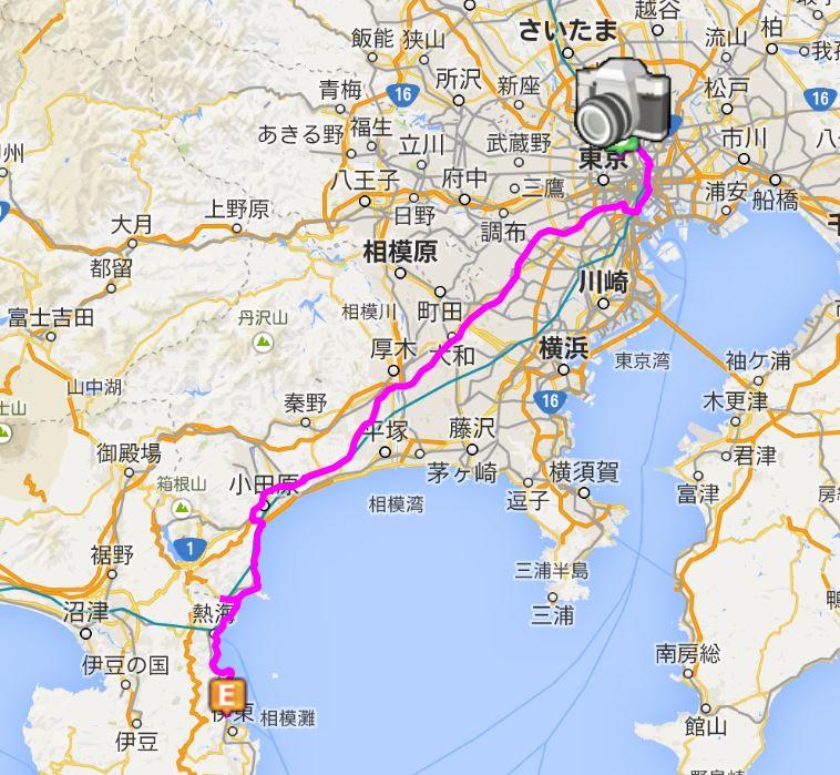 上野 → 松川館