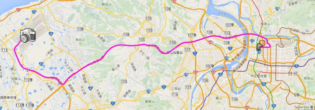 141117 空港 → ホテル